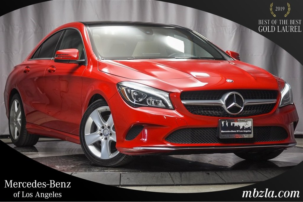 Certified Pre-Owned 2018 Mercedes-Benz CLA CLA 250