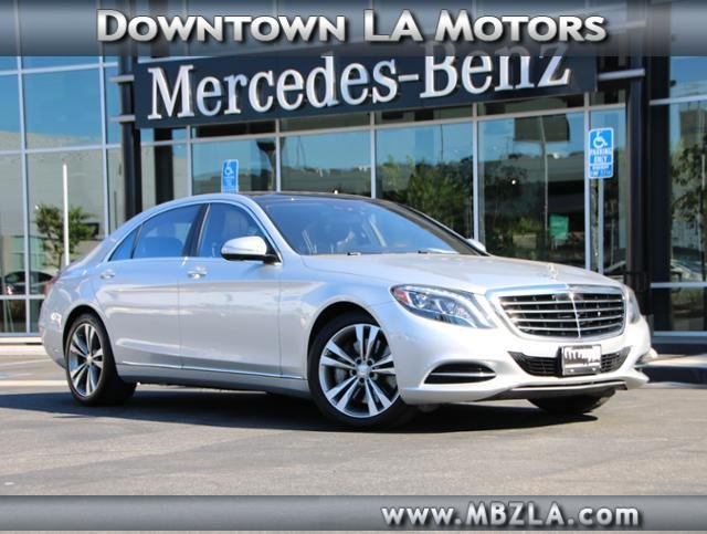 Certified Pre Owned 2015 Mercedes Benz S Class S 550