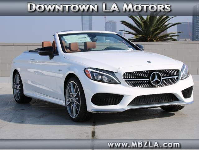 New 2018 mercedes benz c class amg c 43 convertible in for Mercedes benz downtown la motors