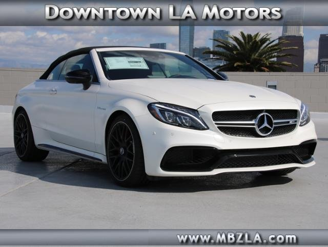 New 2018 Mercedes Benz C Class AMG C 63 S Convertible in Los