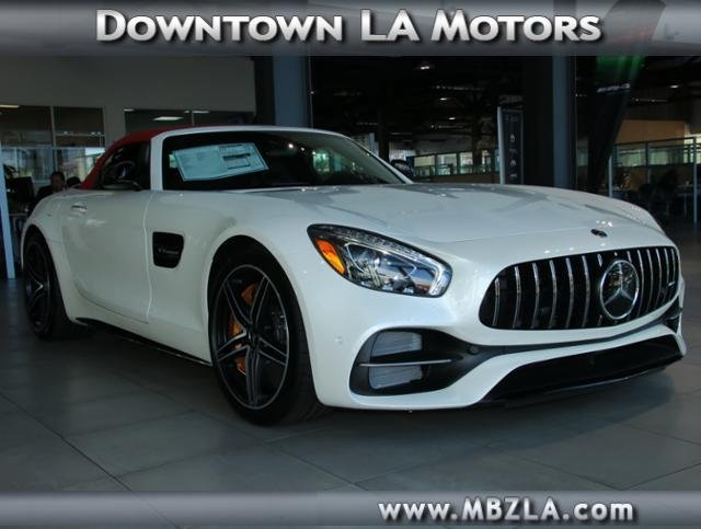 New 2018 mercedes benz amg gt amg gt c convertible in for Downtown la motors mercedes benz